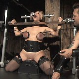 Alisha is one tough slave...